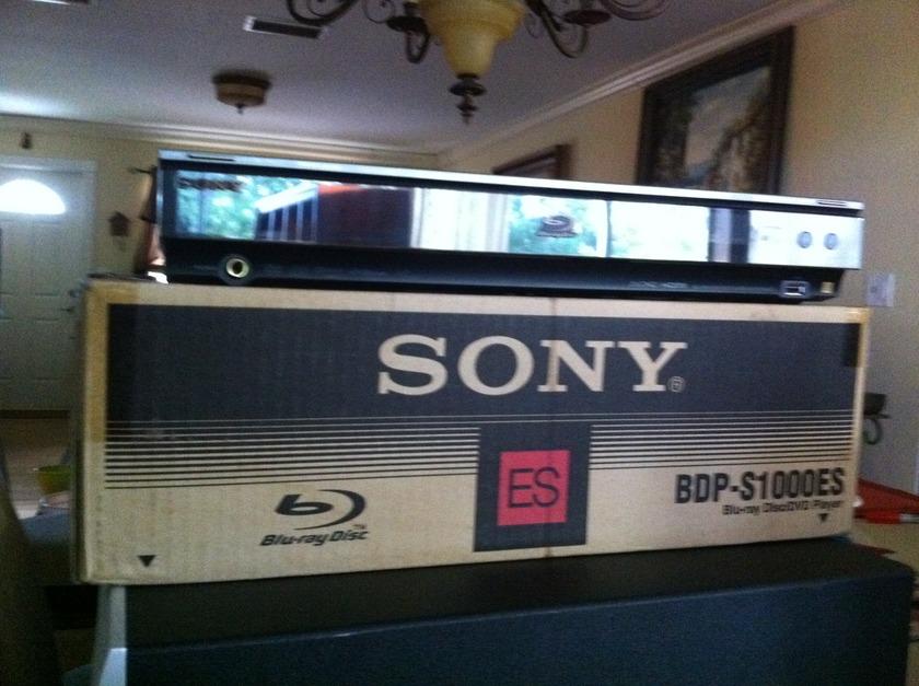 Sony BDP-S1000ES Blu Ray ES Series