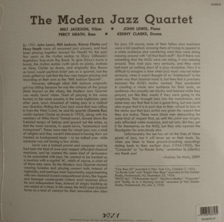 ★Sealed Audiophile 180g★ Doxy Music / - The Modern Jazz Quartet Vol.2!