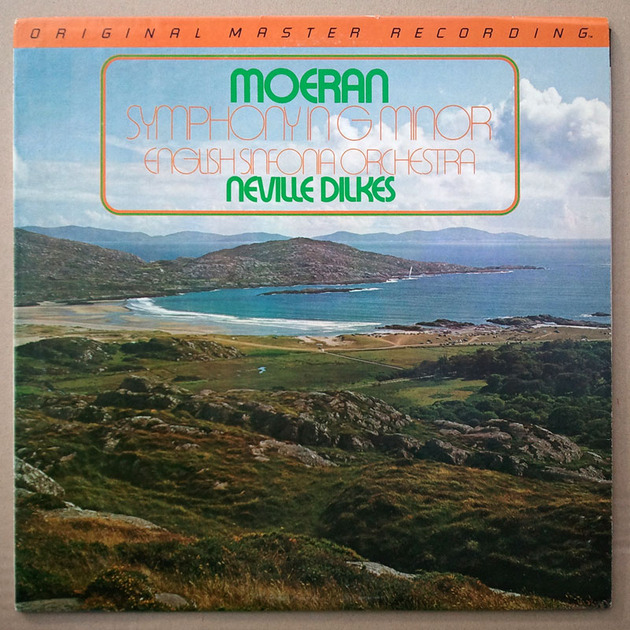 MFSL/Moeran Symphony in G Minor/Neville - Dilkes conducting the English Sinfonia Orchestra / NM