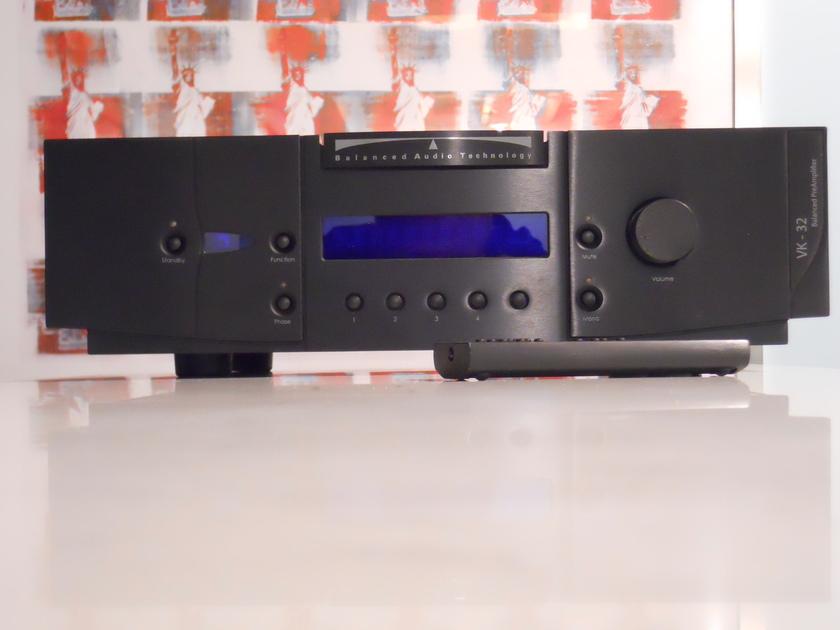 Balanced Audio Technology BAT VK-32 Preamp