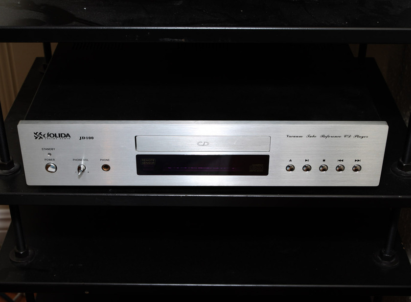 Jolida JD100 (JD-100) modded Tube CD player