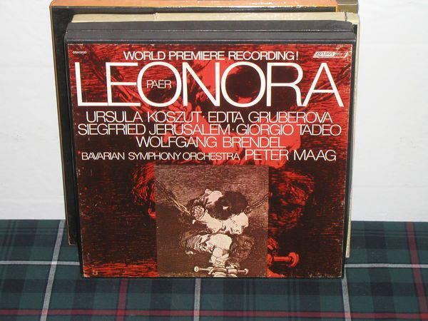 Maag/BSO - Leonora London narrowband 3 lp box