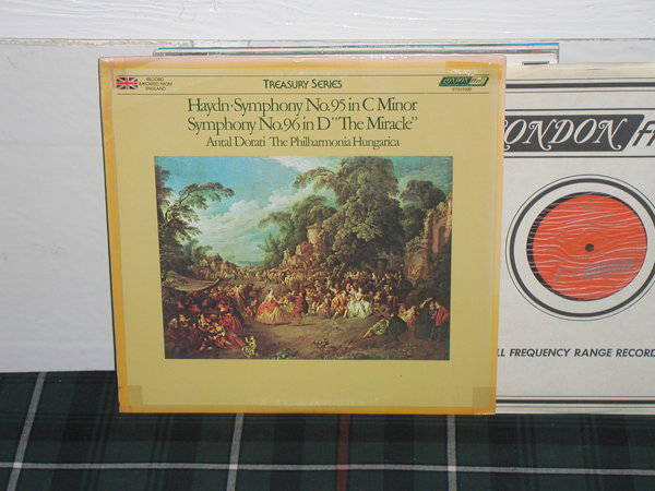 Dorati/Tph - Haydn Sym No 95-96 London ffrr UK Decca press
