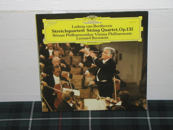 Bernstein/VPO - Beethoven String Qte DG German import  press