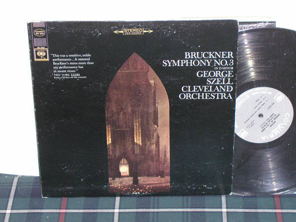 Szell/Cleveland O - Bruckner 3 Columbia <360> labels from 60's