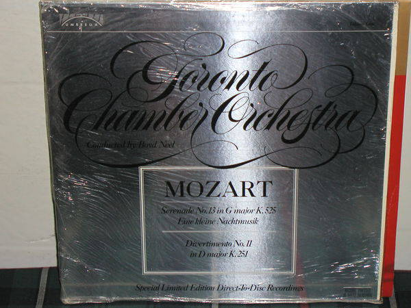 Neel/Toronto Chamber - Mozart Serenade Umbrella d2d LP SEALED