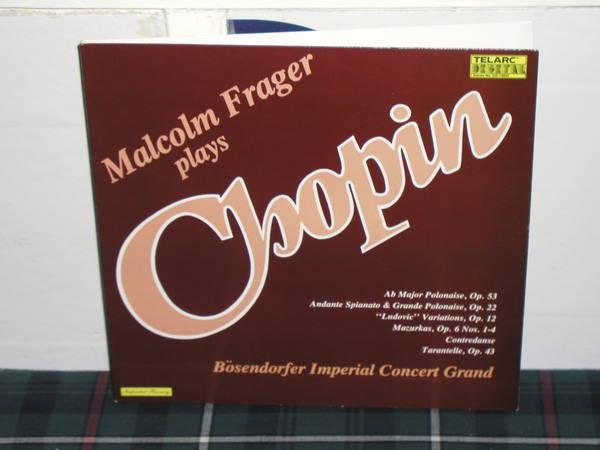 Malcolm Frager - Chopin Telarc dg 10040 gatefold