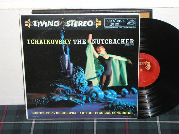Arthur Fiedler/BPO - Tchaikovsky RCA shaded dog LSC-2052
