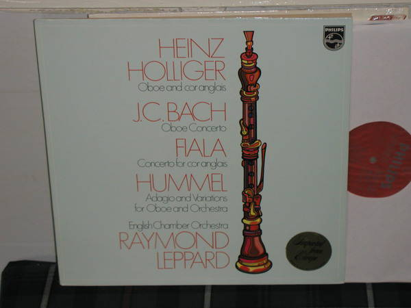 Holliger/Leppard/Eco - Bach/Fiala Philips Import Holland LP