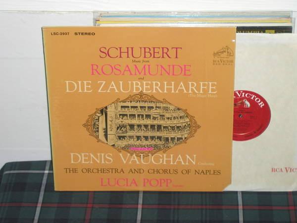 Vaughan/TOaCoN - Schubert Rosamunde RCA WD LSC 2937 LP