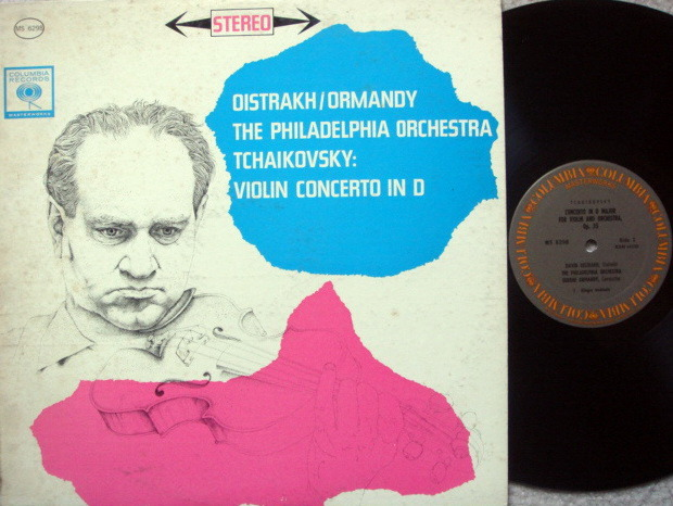 Columbia / OISTRAKH-ORMANDY, - Beethoven Violin Concerto, MINT!