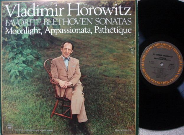 Columbia / VLADIMIR HOROWITZ, - Favorite Beethoven Piano Sonatas, MINT!