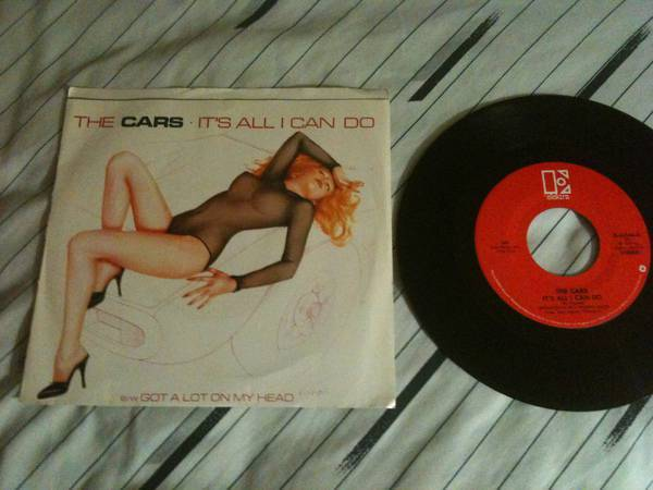 The cars - It's All I Can do 45 with sleeve nm