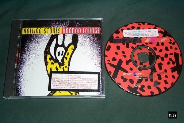 Rolling stones - Promo Cd Voodoo lounge nm