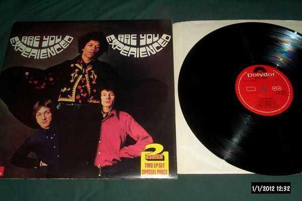 Jimi Hendrix - 2 LP double select are you ex/axis:bold as love