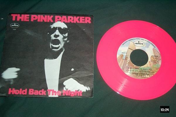 Graham Parker - The Pink Parker pink vinyl ep nm