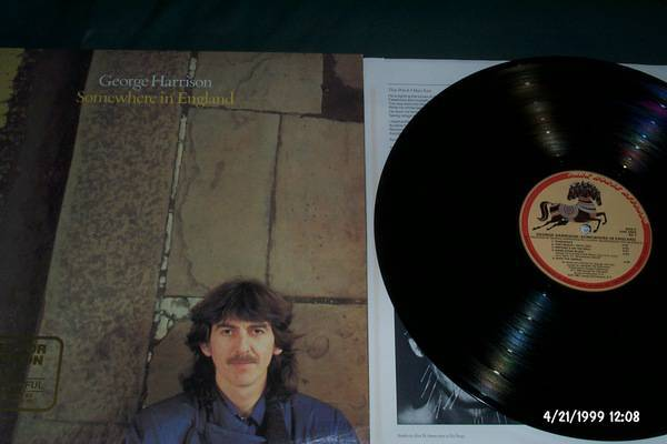 George harrison - Somewhere In england lp nm