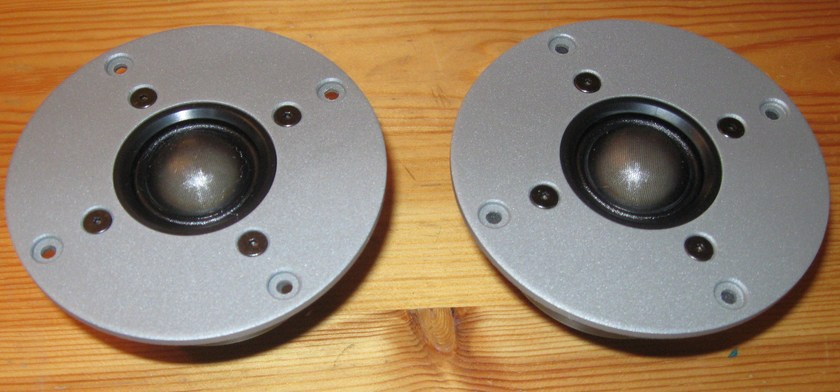 North Creek Tweeters speakers D-28-S-06 soft domes NEW NOS in box