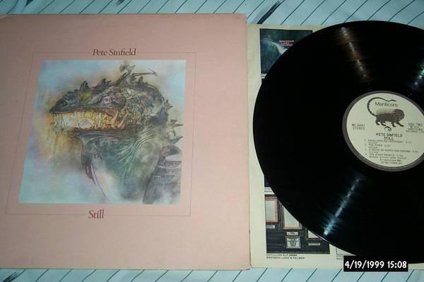 Pete sinfield - Still lp nm