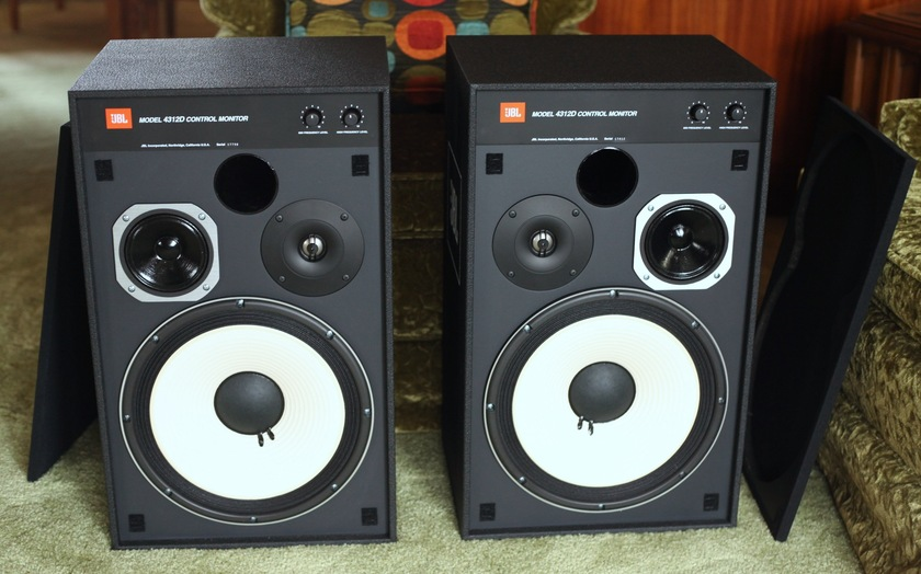 JBL 4312D 3-Way Studio Monitor - Pristine