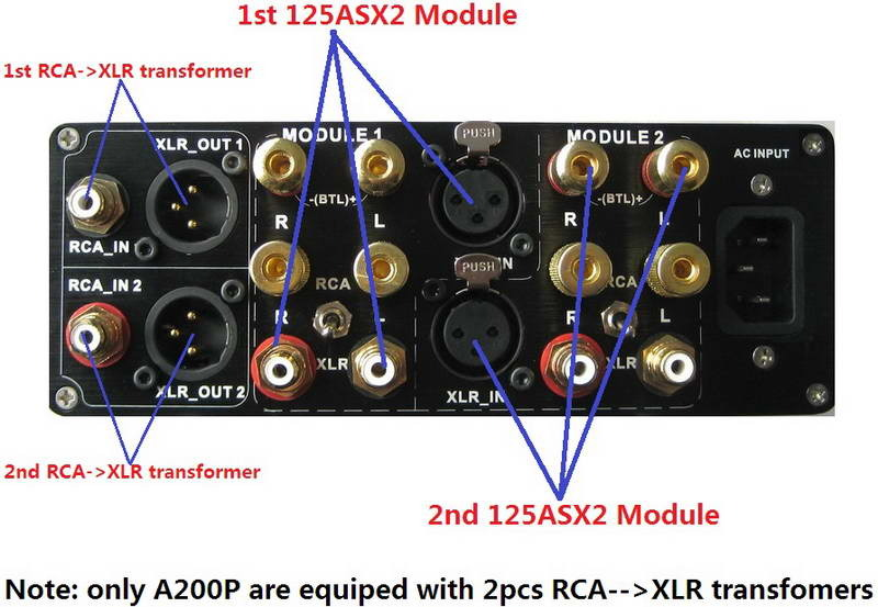 ICEpower 125ASX2 --- A200 Mono 550w x 2/ch & SE Amp