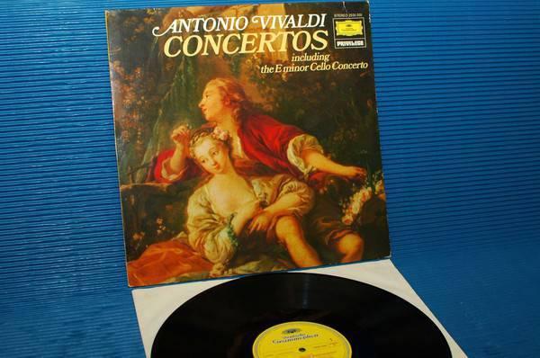 "ANTONIO VIVALDI -  - ""Concertos"" -  Deutsche Grammophon 1976 import 1st pressing"