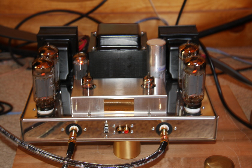 Dynaco  st-70 rebuilt by Chris Kellar