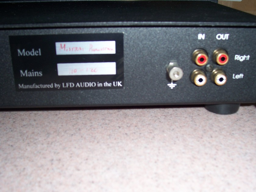 LFD Mistral Phono Stage  Signature (Corian Faceplate) Great Sound at a Great Price