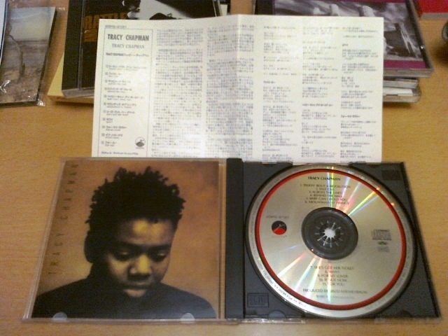 Tracy Chapman - 1st debut (Made in japan 1st edition, sony press)