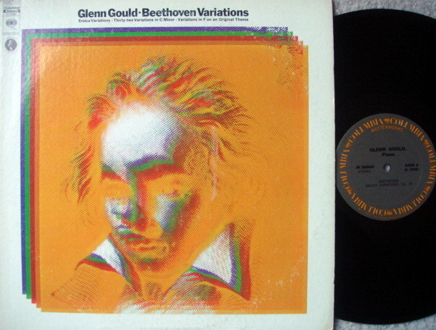 Columbia / GLENN GOULD, - Beethoven Variations, MINT!