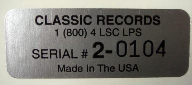 ★Audiophile 180g★ RCA-Classic Records /  - SZERYNG-HENDL, Lalo Symphony Espagnole, MINT(OOP)!
