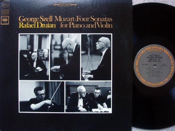 Columbia / DRUIAN-SZELL, - ,Mozart Violin Sonatas No.4, 6, 7 & 8,  MINT!