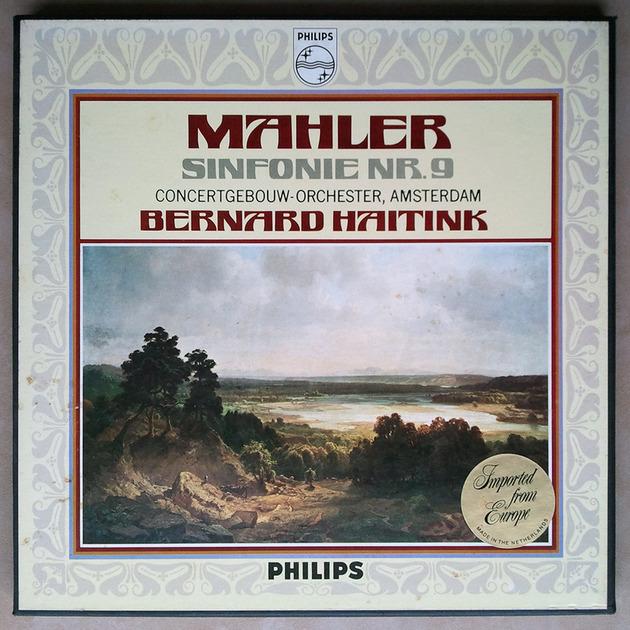Philips/Haitink/Mahler - Symphony No.9 / 2-LP box set /  NM