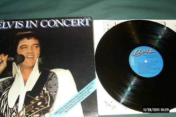 Elvis presley - Elvis In Concert 2 lp nm