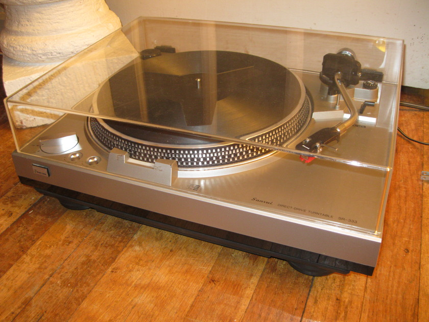 Sansui SR 333 Turntable