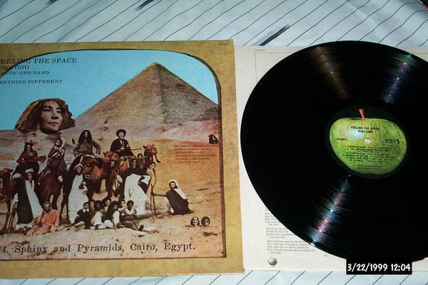 Yoko ono - Feeling The Space apple records lp nm