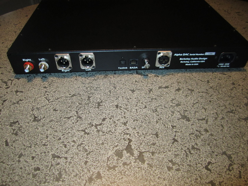 BERKELEY ALPHA DAC Series 1 (Silver)