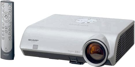 Sharp XV-Z2000  XVZ2000 720p 16:9 DLP Projector with Ceiling Mount