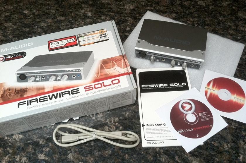 M-Audio Firewire Solo Firewire to S/PDIF converter