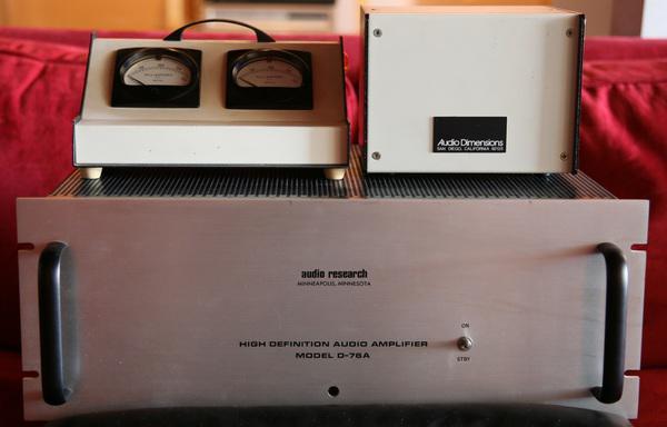 Audio Research D-76A Hi Def Audio Amplifier