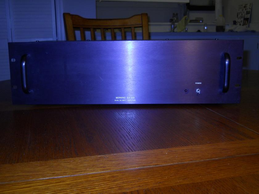 Berning EA-230 Stereo Tube Amplifier