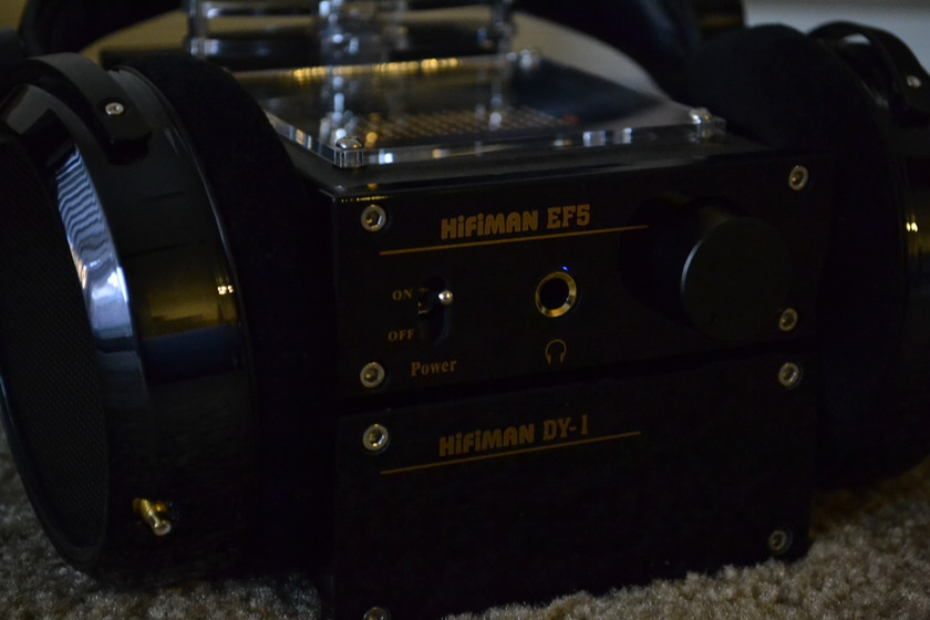 HiFiMan HE-4  with EF-5 and extra cables less than 10 hours on them