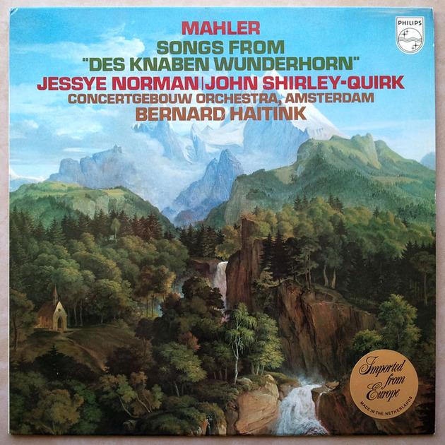 Philips/Haitink/Mahler - Des Knaben Wunderhorn / NM