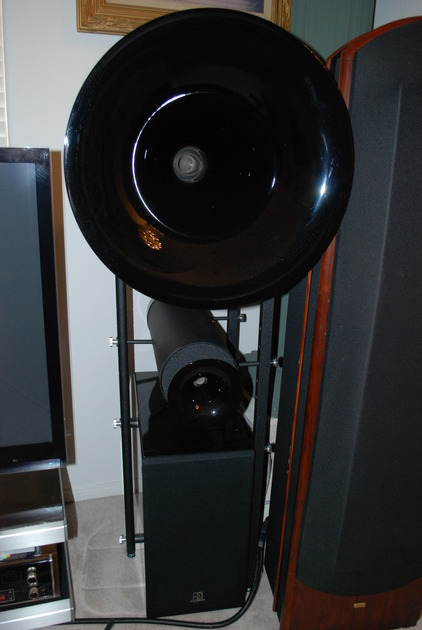 Avantgarde Uno Horn Balance Diamond Blk stereophile class a rated