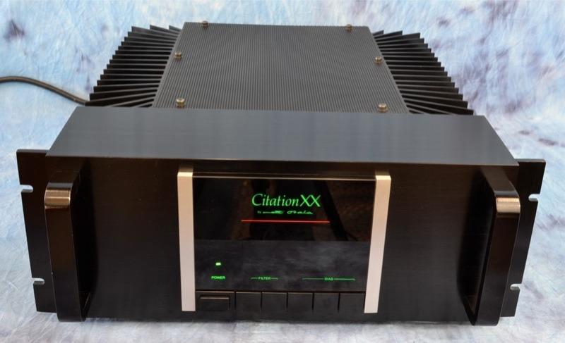 Citation XX; XXP - Stereo Power Amplifier; Preamplifier  Near Mint Set