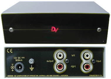 Dynavector P-75 Phono Preamp with 13.8v regulated power supply