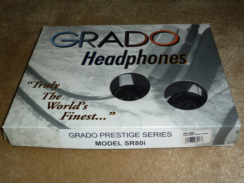 Grado SR80i Modified Headphones