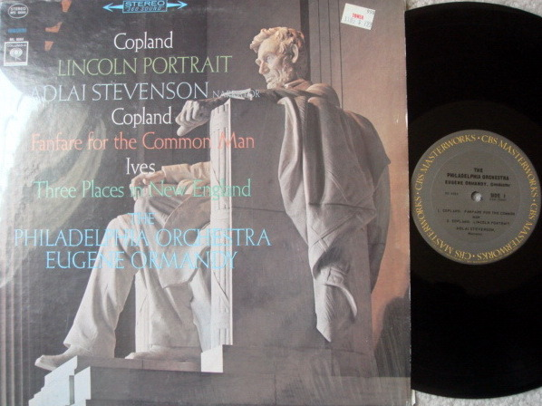 Columbia 2-EYE / EUGENE ORMANDY,  - Copland Lincoln Portrait, MINT!