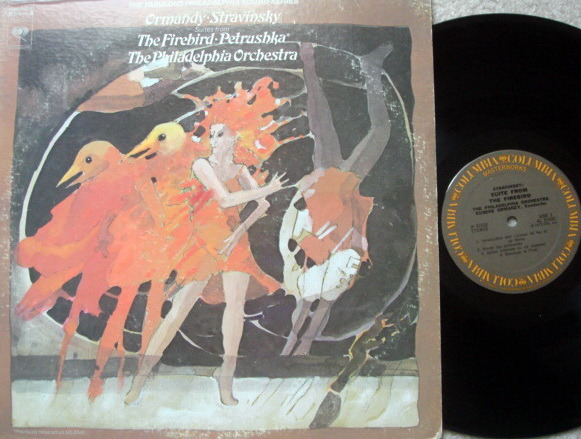 Columbia / EUGENE ORMANDY,  - Stravinsky Firebird, Petroushka, NM!