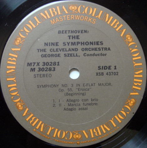 Columbia / GEORGE SZELL,  - Beethoven The Nine Symphonies, MINT, 7LP Box Set!